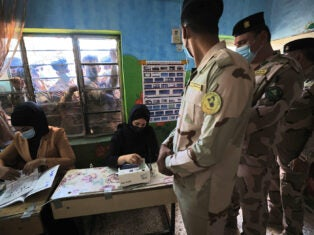 Iraq's election shows a society fraying at the edges