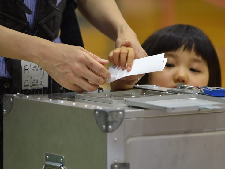 Photo of Japan's new prime minister enjoys the upper hand as elections loom