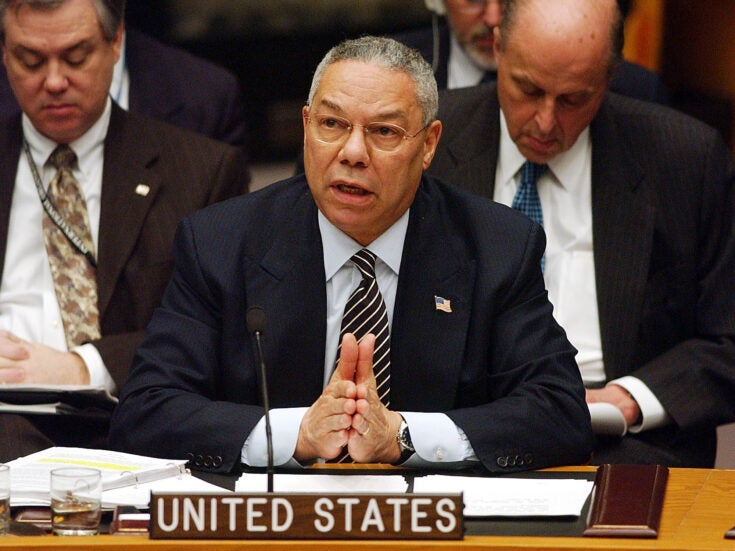 Photo of Colin Powell did not want the Iraq War to define his legacy – but it will